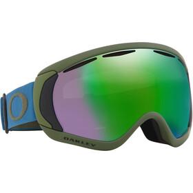 Oakley Canopy Lunettes de ski, blue/prizm snow jade iridium